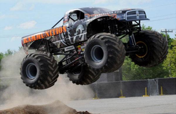 A Ram Truck Monster Truck