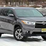 Testing the 2015 Toyota Highlander XLE