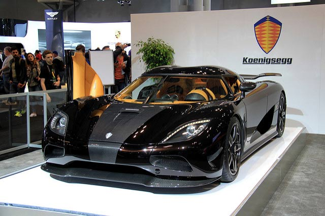 Speed: 284 Mph Koenigsegg Agera RS