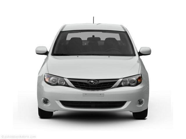 2009 Subaru Impreza 2.5i sedan